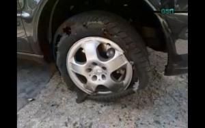 ken gerard flat tire