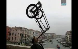 jon balances bike