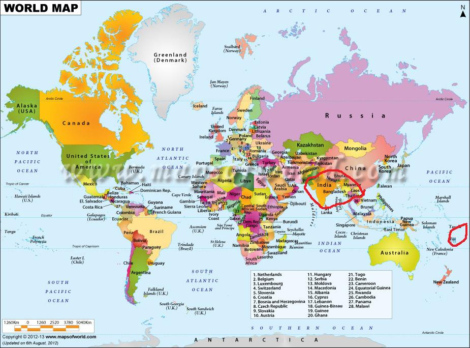 Where Is Tahiti Located On A World Map | dyslexiatips