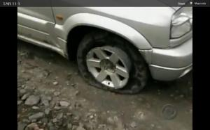 drew flat tire