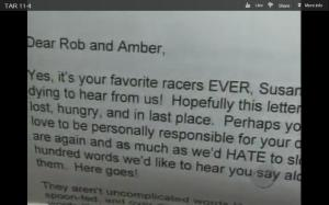 rob letter