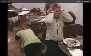 charla vomits