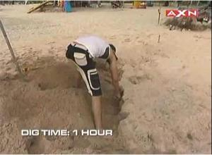 dig one hour