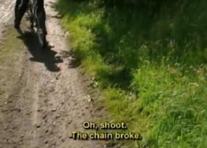 chain broke