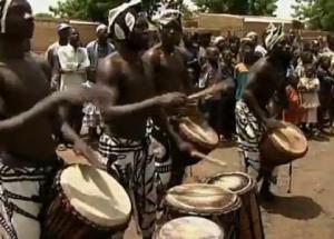 burkina drums