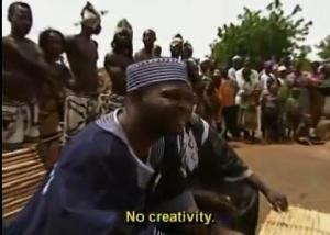 no creativity