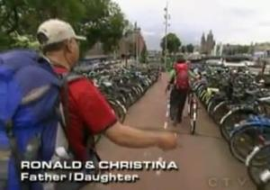 ronald christina bikes