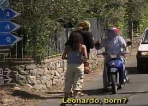 italy leonardo born