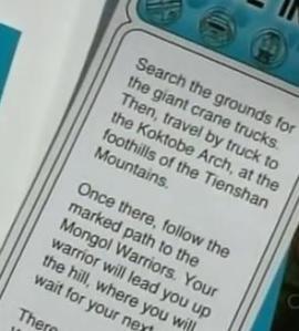 kazakhstan clue