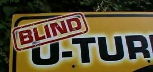 blind u turn
