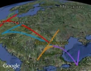 siberia flight plan