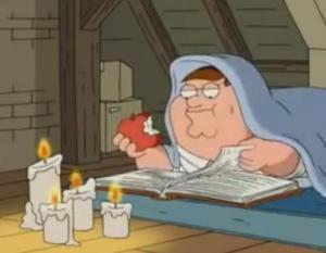 peter griffin never ending story