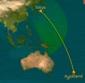 tokyo flight plan