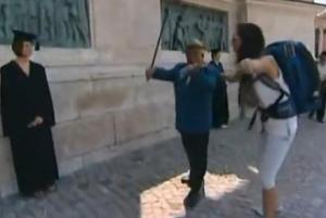 budapest violin man
