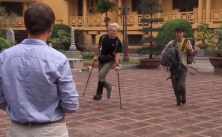 dave o' leary crutches funny