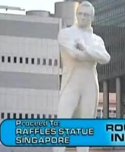 finale raffles statue