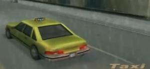 grand theft auto 3 taxi
