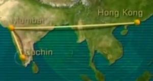 india flight 2