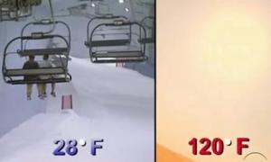 emirates temperature