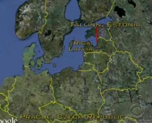 czech republic flight path