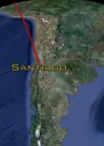 santiago flight