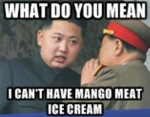 kim jong un mango meat