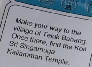 malaysia clue