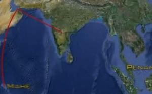 malaysia flight path