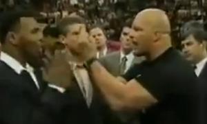stone cold middle finger