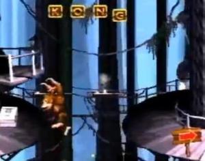 donkey kong country rope bridge rumble