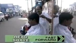 galle head shave