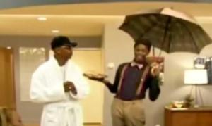 fonzworth bentley umbrella
