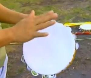 legazpi tambourine