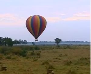 survivor africa hot air balloon