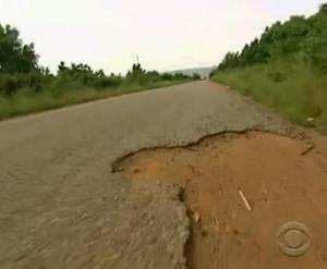accra pothole