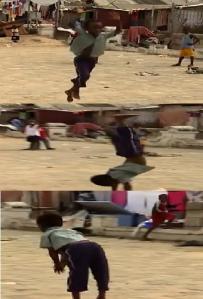 ghana gymnast