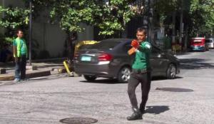 philippines michael jackson traffic cop