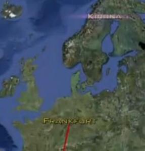 sweden flight