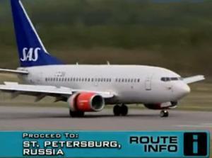st petersburg plane