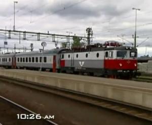 st petersburg train