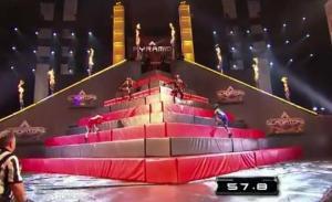 american gladiators pyramid