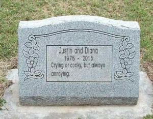 justin and diana