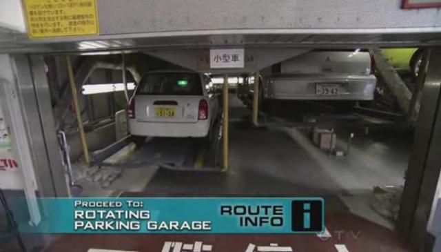 tokyo parking garage 2