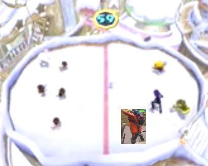 mario party ukiki snow ron