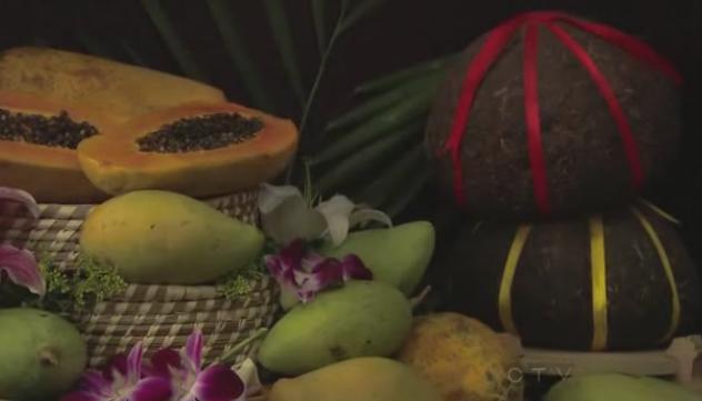 kunming again papaya mango