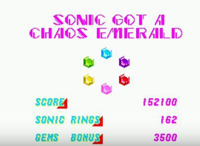 sonic chaos emerald