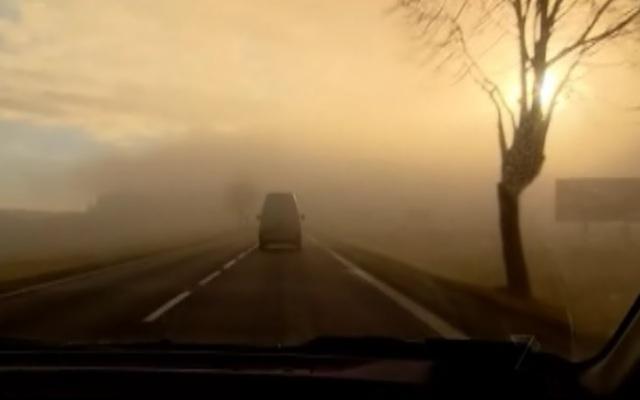 krakow fog