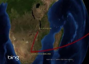 lilongwe map 1