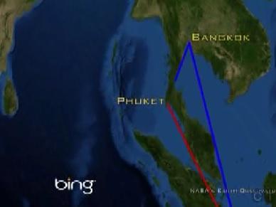 phuket arrival