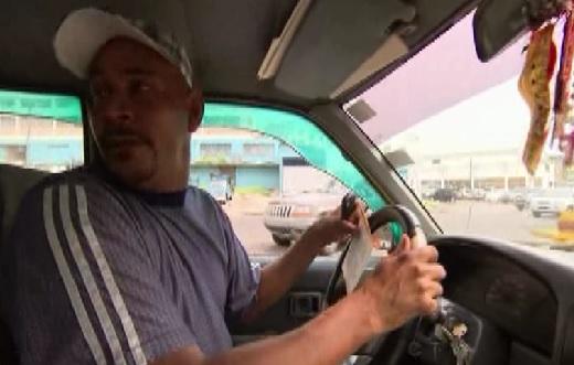 panama city taxi driver